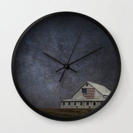 Goodnight, American Farm Wall Clock