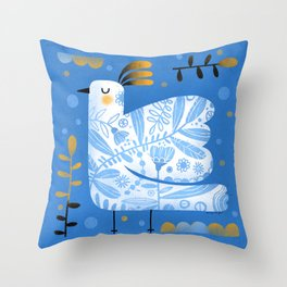 FANCY WING Throw Pillow