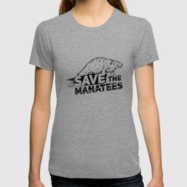 Save The Manatees II - Nature & Wildlife Gift T-shirt