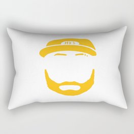 Fear the Beard Rectangular Pillow