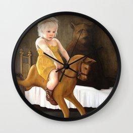 Childhood friends Wall Clock