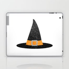 Glitter Witch Hat Laptop & iPad Skin