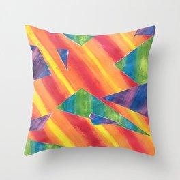 Bright Disturbance Throw Pillow