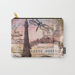Eiffel tower collage Carry-All Pouch
