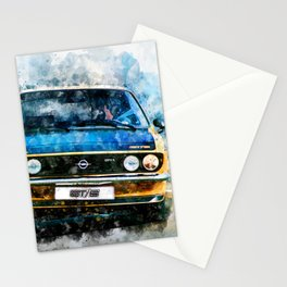 Opel Manta GTE Stationery Cards
