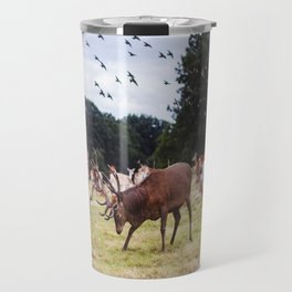 Mr Prongs and other Marauders Travel Mug