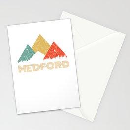 Retro City of Medford Mountain Shirt Stationery Cards