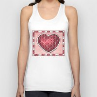 confetti Tank Tops featuring Confetti by Shelley Ylst Art