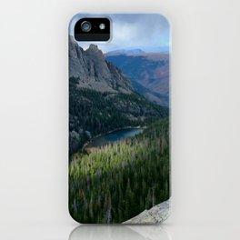 Rocky Mountain View: Odessa Lake iPhone Case
