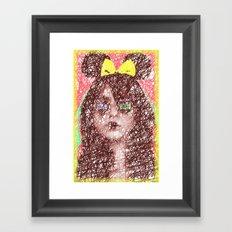 Just sketch it! Framed Art Print