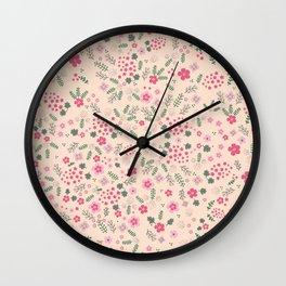 Liberty Pattern Wall Clock