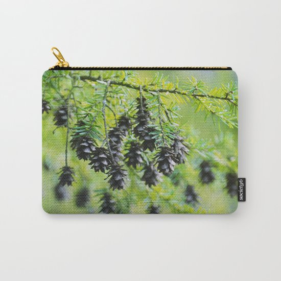Snoqualmie Cones Carry-All Pouch