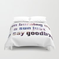 doctor who Duvet Covers featuring Doctor Who by Ana Sánchez