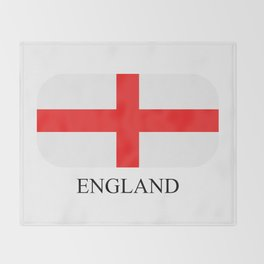 England flag Throw Blanket