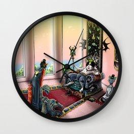 King Norman Cat Wall Clock