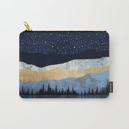 Midnight Lake Carry-All Pouch
