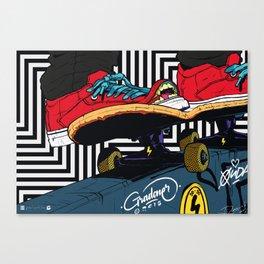 """50-50"" Canvas Print"