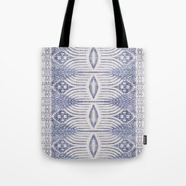 FRENCH LINEN TRIBAL IKAT Tote Bag