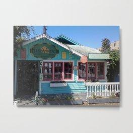 Little blue House Metal Print