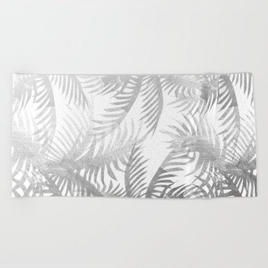 Jungle BW Beach Towel