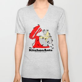 Kitchen Ants Unisex V-Neck