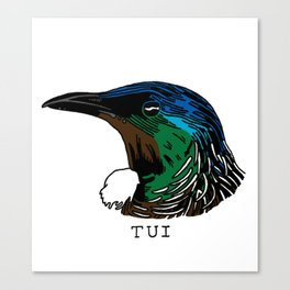 Tui Canvas Print
