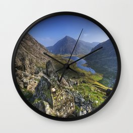 Devils Kitchen View Wall Clock