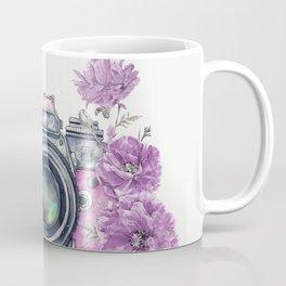 Camera with Summer Flowers 2 Coffee Mug
