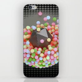Graphic Light Balls iPhone Skin