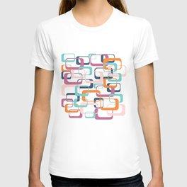 Mid Century Modern Swanky Pattern T-shirt