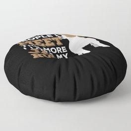 Jack Russel Dog Pet Animal Lover Gift Floor Pillow