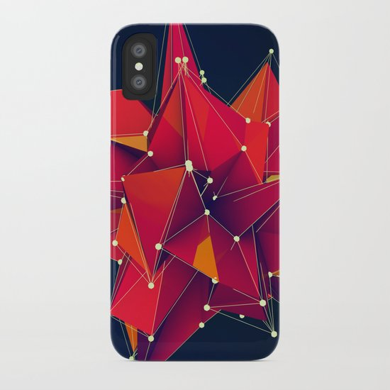 Architecture Polygons iPhone Case