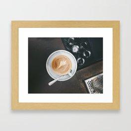 Wake Me Up at Sightglass Framed Art Print