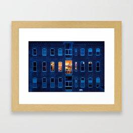 Across the Way Framed Art Print