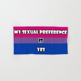 Bisexual for All Hand & Bath Towel