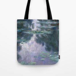 Claude Monet's Water Lilies, 1907 (High Resolution) Tote Bag