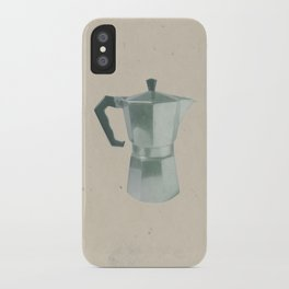 Coffee Blues iPhone Case