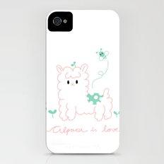 Alpaca is love Slim Case iPhone (4, 4s)