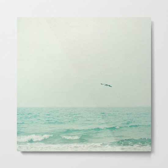 Lone Bird Metal Print