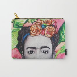 Frida Khalo Carry-All Pouch