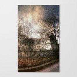 Vessey Street Sunset Canvas Print