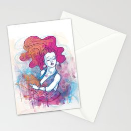 Au travers Stationery Cards