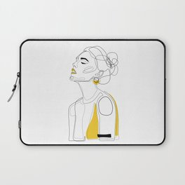 Yellow Lip Laptop Sleeve