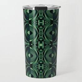Stained Glass Collection IV Shades Of Palm Leaves Travel Mug