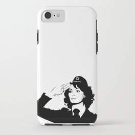 La Poliziotta iPhone Case