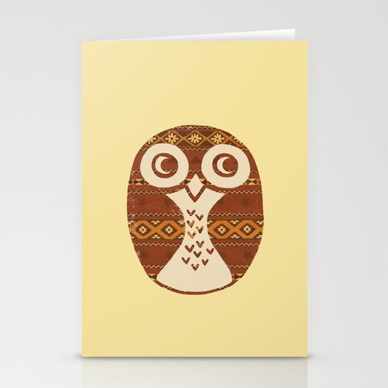 Navajo Owl  Stationery Cards