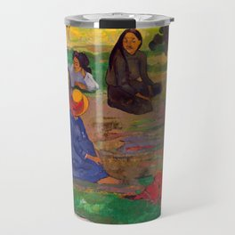 "Paul Gauguin ""Conversation"" Travel Mug"