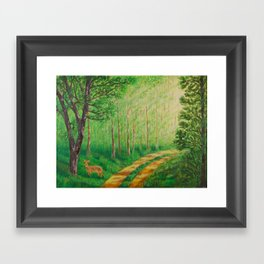 Lonely Time Framed Art Print
