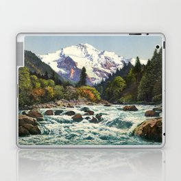 Mountains Forest Rocky River Laptop & iPad Skin