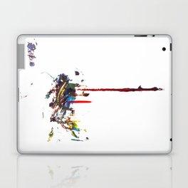 Dos Splatter  Laptop & iPad Skin